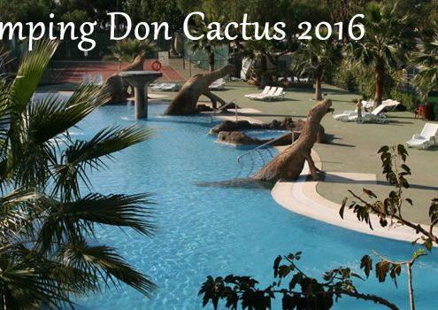 Convivencia Camping Don Cactus 2016