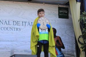 El atleta del Club Atletismo Ciudad de Motril, Luis Rodriguez se proclamó medalla de bronce en el XXXV Cross Internacional de Itálica.