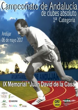 Cartel Cto absoluto Clubes Andalucía