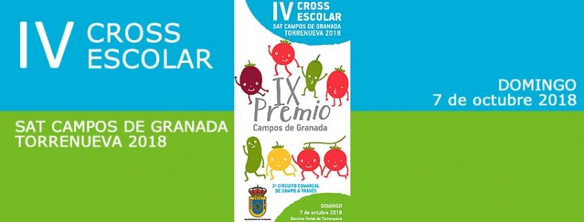 IV Cross Escolar SAT Campos de Granada