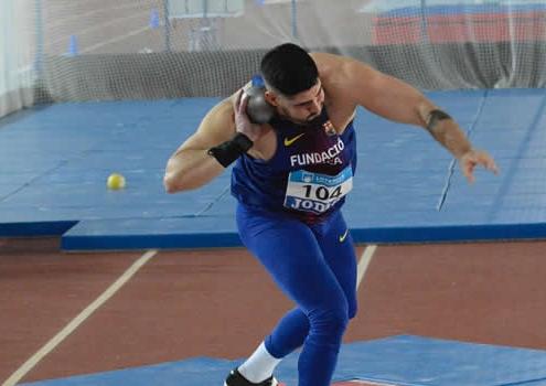 Lorenzo Hernández Barrionuevo, Campeón de España sud23 de lanzamiento de peso.