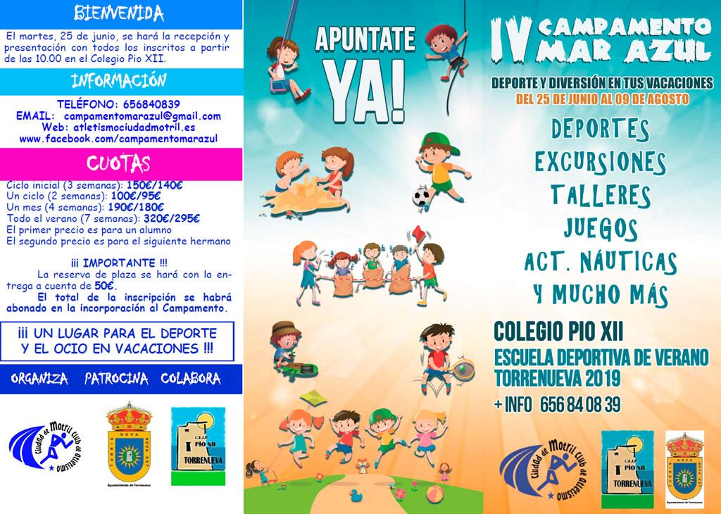 Campamento Mar Azul 2019