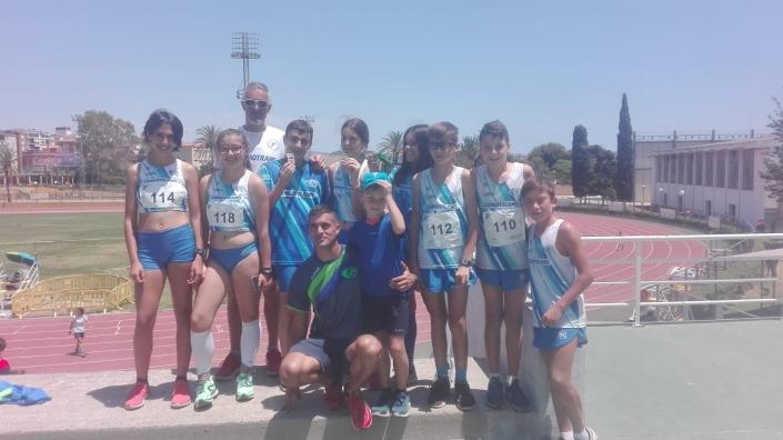 Cto. Andalucía Atletismo Sub14