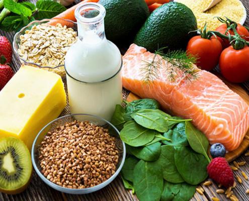 Hábitos saludables en la alimentación