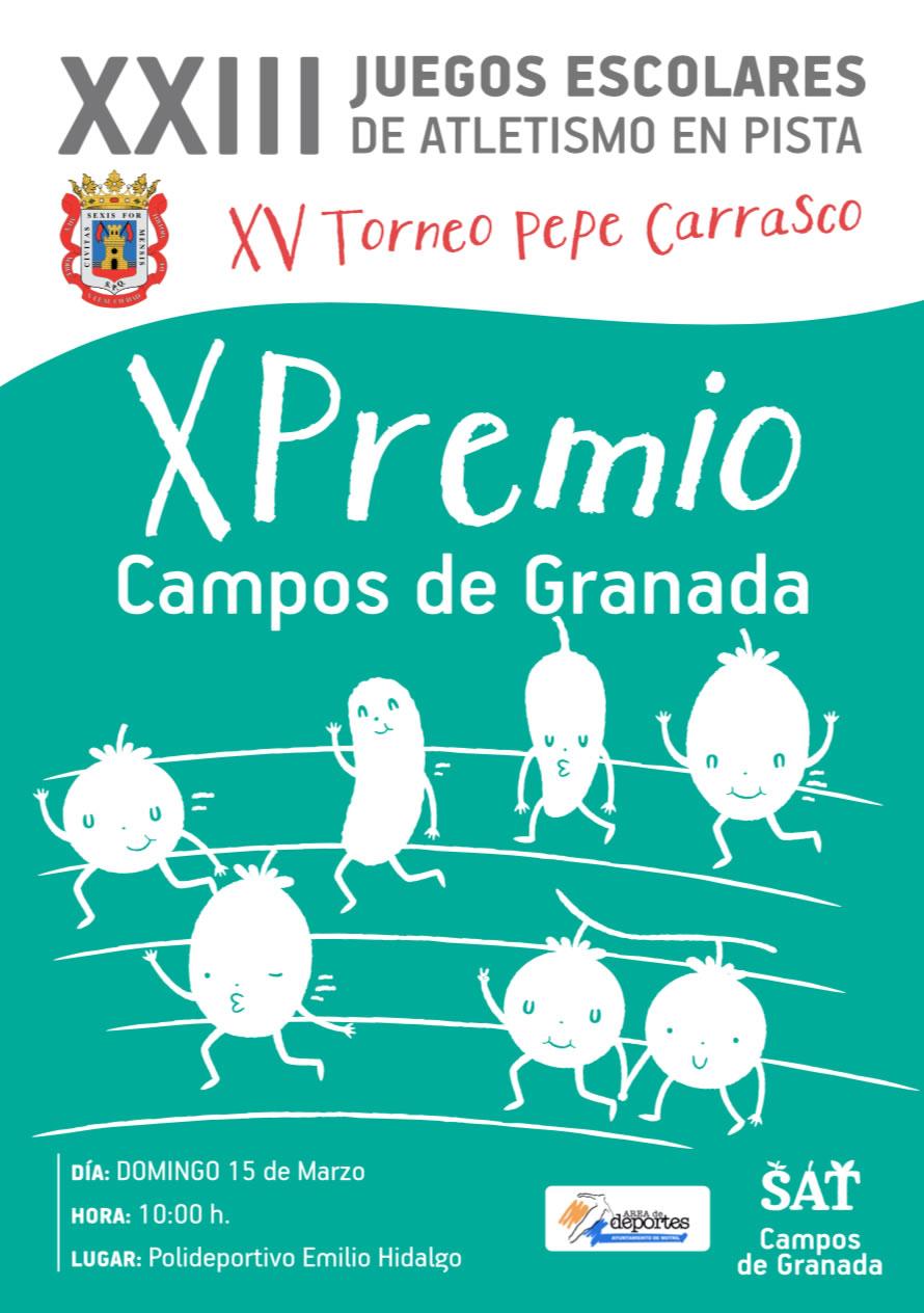 XXIII Juegos Escolares de Atletismo 2020