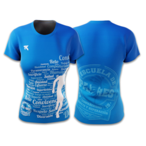 Camiseta_Corta_Azul_Mujer