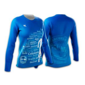 Camiseta_Larga_Azul_Mujer