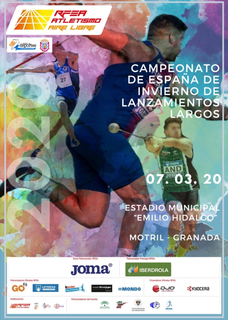 Motril. La localidad andaluza celebra el X Campeonato de España de Lanzamientos Largos de Invierno